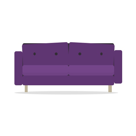 Purple-Couch